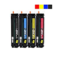 Toner Cartridge (204A M154A CF510A, CF511A, CF512A, CF513A) Black, Red, Blue & Yellow Toner Four Pack, 1100 Pages in Black 900 Pages in Color