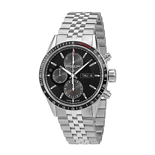 Raymond Weil Freelancer chronographe automatique Cadran noir montre pour homme 7731-st1–20621