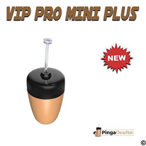 ✅【NUEVO MODELO PINGA VIP PRO MINI PLUS 2019】💥 El Pinga Vip Pro Mini Plus incorpora mejoras de autonomía y diseño con respecto a la anterior versión. Perfecto para su uso en exámenes por su discreción y facilidad de uso. Se conecta a su Smartphone o M...