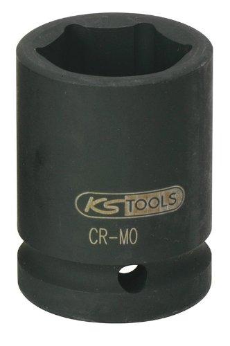 """KS Tools 515.1336 3/4"""" Sechskant-Kraft-Stecknuss, kurz, 36mm"""