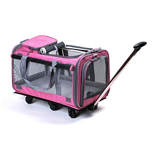 de2dc0e1b740 MRXUE Dog Carrier Cat Pet Carrying Bag Luxury Handbag Foldable Plush  Cushion Easy To Clean Portable