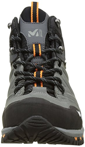 MILLET Unisex-Erwachsene Hike Up Mid Hohe Wanderschuhe Multicolore (Anthracite/Orange)