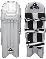 adidas–Espinilleras para bateador de XT CX11–negro/blanco/plata–Hombres De La Mano Derecha–nuevo para 2017