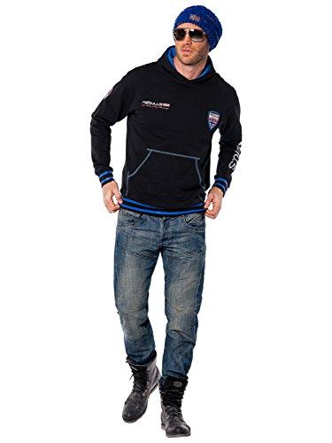 Nebulus Herren Sweatshirt Norgay, S, schwarz