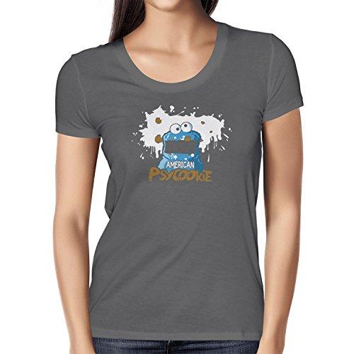 TEXLAB - American Psycookie - Damen T-Shirt Grau