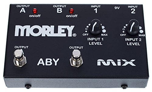 Morley Pedals ABY MIX - Pedal conmutador