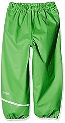 CareTec Kinder Regenhose (verschiedene Farben) , Grün (Green 974), 134