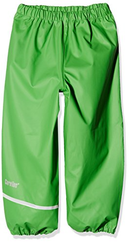 CareTec Kinder Regenhose (verschiedene Farben) , Grün (Green 974), 140