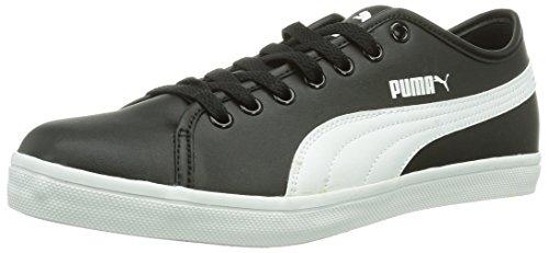 Puma Elsu Sl, Sneaker Unisexe - Adulte Nero (schwarz (noir-blanc 01))