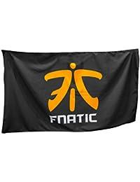 Fnatic Supporters Banner, negro - 150cm x 90cm