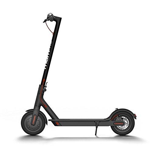 "Moma Bikes E-500 Patinete Electrico (Plegable, Urbano, Ruedas DE 8,5"", 25km/h, Autonomía 30 km), Negro/Gris"