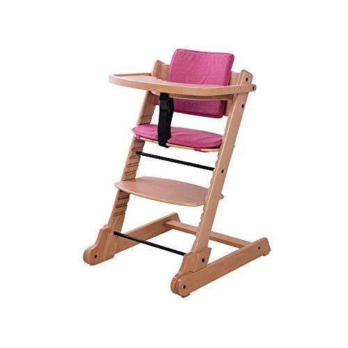 YQQ Table Et Chaises pour Enfants Tabouret De Sécurité pour Bébé Chaise en Bois Massif Chaise Pliante Portable Siège Enfant Multifonctionnel