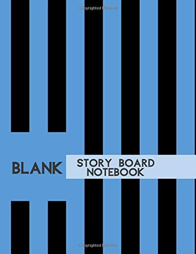 Blank Story Board Notebook: Large Film Making Notebook Journal Logbook Planner Notepad Clapperboard for Creative Storytelling Story Drawing. Gifts for ... Pages (Film Writing & Sketching Log, Band 17)