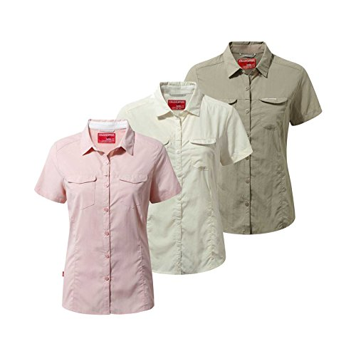 41mpZl2FOrL. SS500  - Craghoppers Ladies NosiLife Adventure Short Sleeve Shirt