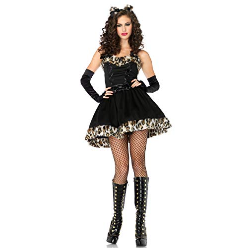 GAOJUAN Halloween Cosplay Kostüm Erwachsene Cosplay Partei Kostüme Nette Leopard Catwoman Kostüm Uniform Versuchung Kostüm Geeignet Für Karneval Thema Parteien - Nette Catwoman Kostüm