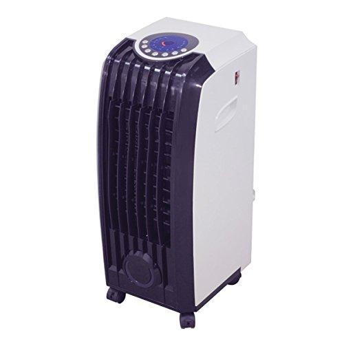 Prem-I-Air; Acondicionador portátil evaporativo MUEV-2000; Dispensa frío y calor, de bajo consumo