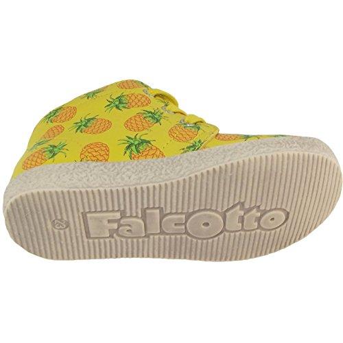 Falcotto by Naturino 1195 161-0012009820-10 Kleinkinder Schnürschuhe gelb (giallo/multi)