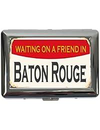 pitillera cigarrera Pasión Viajes Ciudad Baton Rouge USA impreso