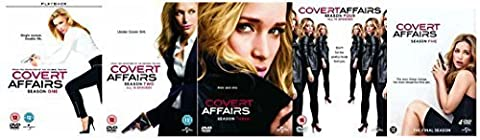 The Complete Covert Affairs DVD Collection: All Series 1, 2, 3, 4, and 5 + Special features: Deleted scenes, Sight Unseen: A Covert Affairs Prequel by Piper Perabo