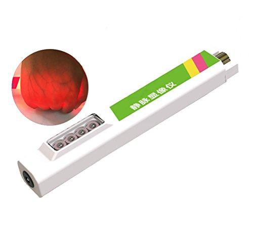Dbtxwd Vein Finder Viewer, Handheld-Infrarot-Gefäß-Display-Instrument Für Die Einfache Suche Nach Subkutanen Venen Gerät,Green