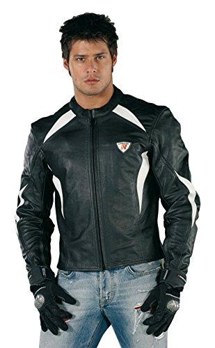 bottari-62407-road-runner-chaqueta-de-piel-color-negro-blanco-talla-xl