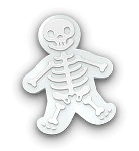Formina per biscotti GIGANTI a forma di Omino Pan di Zenzero Scheletro - Ginger Dead Man