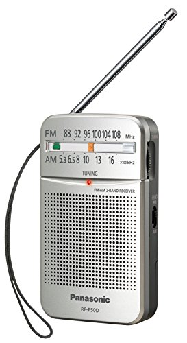 Panasonic RF-P50D - Radio (Portable, Digital, Am, FM, 87-108 MHz, 520-1730 kHz, 0,15 W)