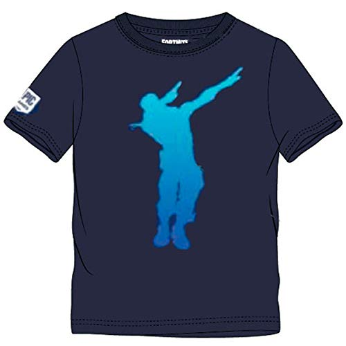 Fortnite Jungen T-Shirt (140, Blau)