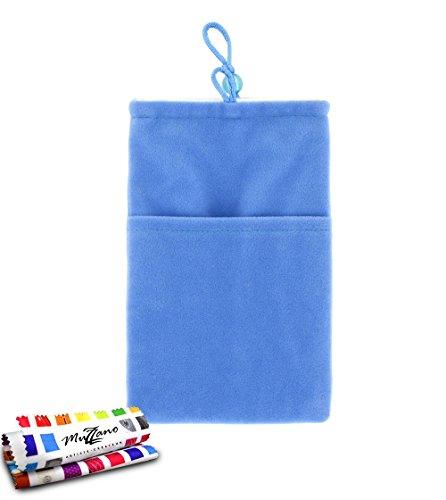 Original MUZZANO Cocoon, per Apple iPhone 5S, colore: blu - Original Style Velour
