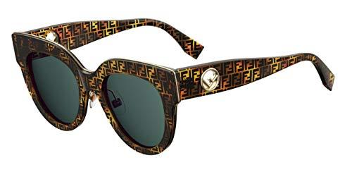 Fendi Sonnenbrillen F is FF 0360/G/S Tortoise/Blue Green Damenbrillen
