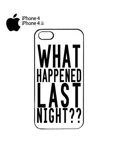 What Happened Last Night ?? Mobile Phone Case Cover iPhone 6 Plus + Black Noir