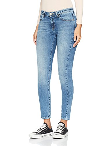 Wrangler Damen Skinny Skinny Jeans W28KX794O, Gr. W24/L30 (Herstellergröße: 24/30), Blau (Best Blue 94O)