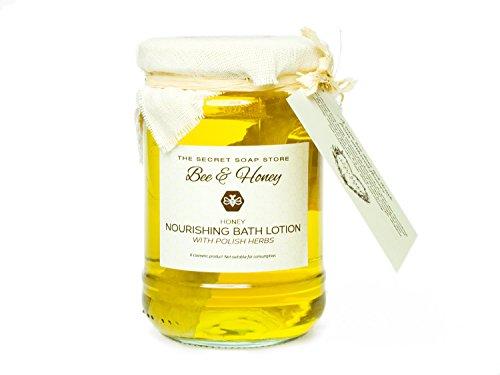 Soap-schaumbad Shampoo (Aromatisches Schaumbad mit Honig (300 ml) -