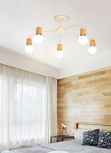 STAGE LIGHTING Luci a sospensione in legno Soggiorno Albero Luce ...