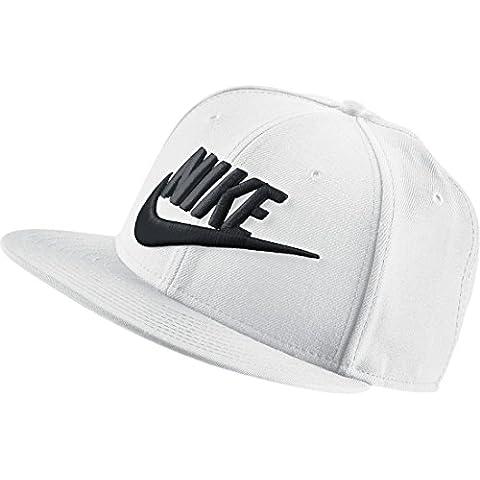 Nike Limitless True - Gorra unisex, color blanco / negro, talla única