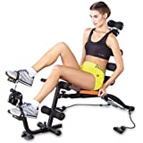 Jukkre ABS Exerciser Machine Training Weight Loss Evolutionary Portable Oblique Exercises for Home Gym Fitness , 6 Pack with