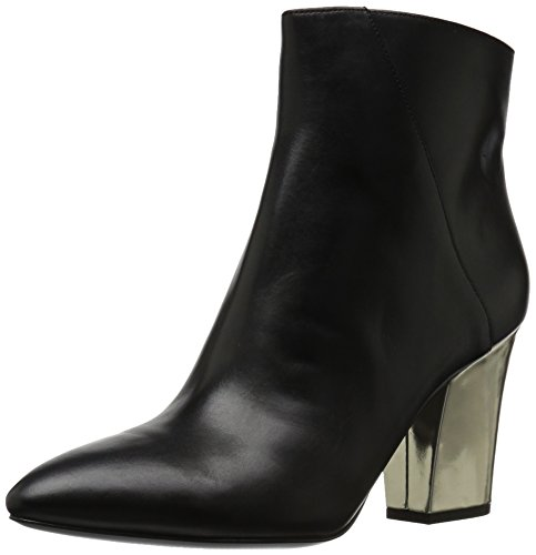 Nine West Damen Savitra Stiefel, Schwarz, 39 EU - Pointy Toe Bootie