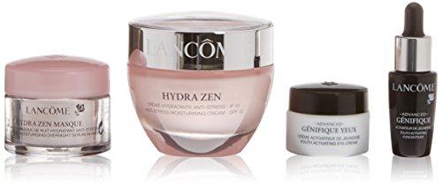 Lancôme Hydra Zen Routine Crema da giorno + concentrato attivador + Crema di occhi anti-età + Serum di notte - 1 Pack