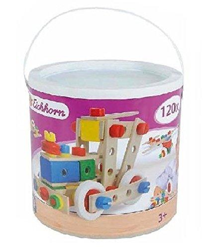 Preisvergleich Produktbild Eichhorn Konstruktionsbox mit 120 Teilen