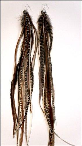 Grizzly-Extensions Nature Boucles d'oreilles extravagantes