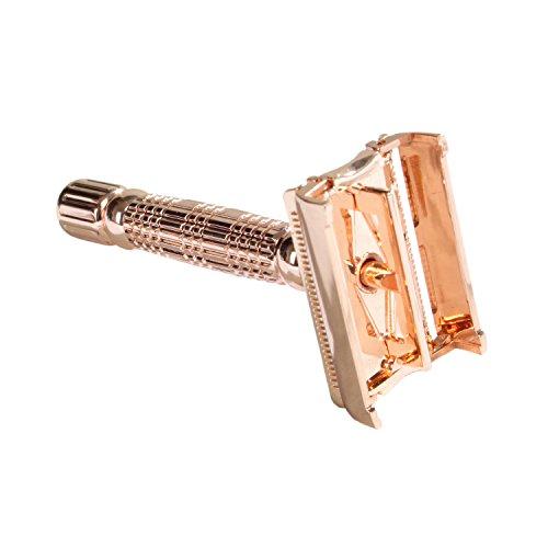 BaiLi® oro rosa farfalla Extreme Edition double edge rasoio rasoio di sicurezza (rasoio)
