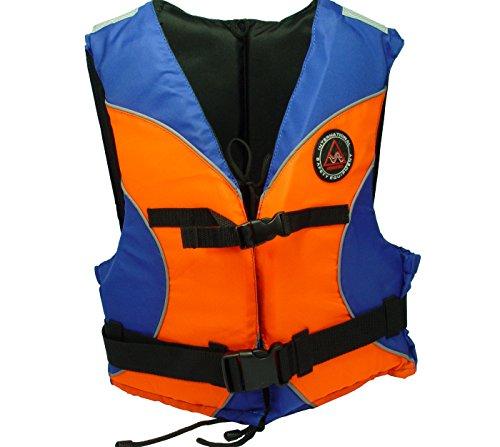 Schwimmhilfe Standard Orange/Blau Schwimmweste für Jollensegeln, Wasserski, Surfen, Kanu, Kajak keine Rettungsweste nach EN395