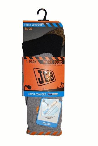 JCB 7139 - Calzini comfort freschi coolmax, numero 40-43, colore: Grigio
