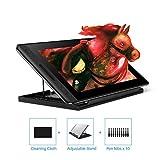 HUION KAMVAS Pro 12, tablettes Graphiques avec écran,Niveaux 8192 Pression Stylo sans...