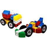 Vehicle Brick-Clicks Race Cars - Building Construction Trucks170pcs Unlimited Creativity - Unlimited Fun - Educational Play Toys Building Blocks Set For Boys And Girls -Great Gift