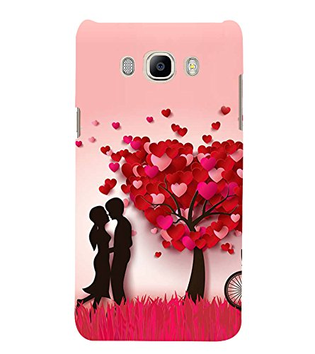 Fiobs Designer Back Case Cover for Samsung Galaxy J7 (6) 2016 :: Samsung Galaxy J7 2016 Duos :: Samsung Galaxy J7 2016 J710F J710Fn J710M J710H (Awesome XOXO Girl Love Forever Mobille Cover Case)