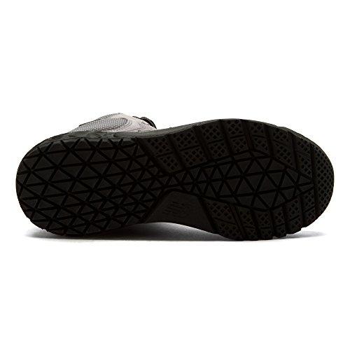 New Balance HFLPX Cuir Baskets Gunmetal/Black