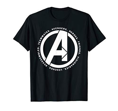 Marvel Avengers: Endgame Logo Heroes and Legends T-Shirt