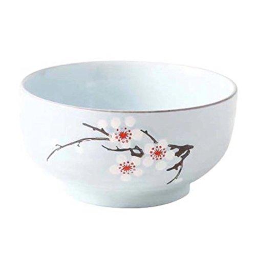ZHAO SHOP- Cuenco de porcelana Cuenco grande de sopa de plato para ensalada de restaurante Ramen gourmet