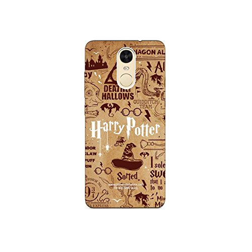HP : Doodle Xiaomi Redmi Note4 Mobile Case by The Souled Store